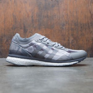 Adidas x Undefeated Men Adizero Adios (gray / shift grey / cinder / utility black)