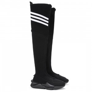Adidas Y-3 Women Kaiwa Boot (black / footwear white)