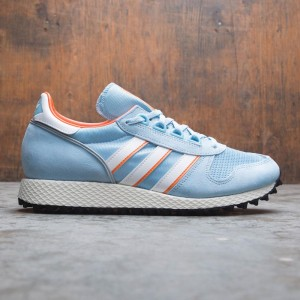 Adidas Men Silverbirch SPZL (blue / clear blue / footwear white / orange)
