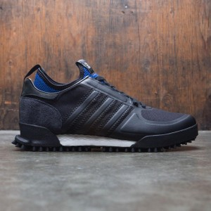 Adidas x C.P. Company Men Marathon (black / core black / collegiate royal)