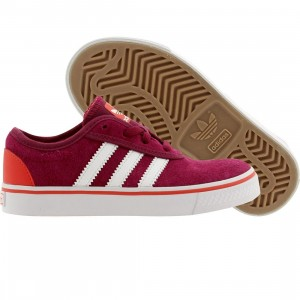 Adidas Skate Little Kids Adi Ease J (purple / triber / ftwwht / brired)