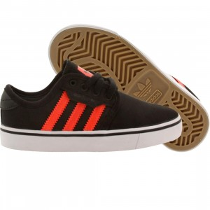 Adidas Skate Big Kids Seeley (black / solred / ftwwht)