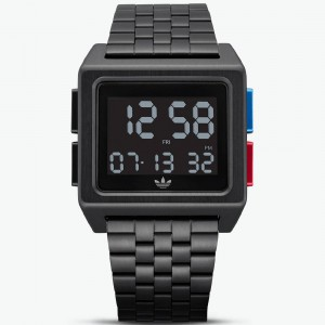 Adidas ARCHIVE_M1 Z01-3042-00 Watch (black / lush blue / lush red)
