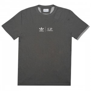 Adidas x C.P. Company Men Tee Shirt (gray / clear granite)