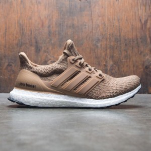 Adidas Men UltraBOOST (brown / raw desert / base green)