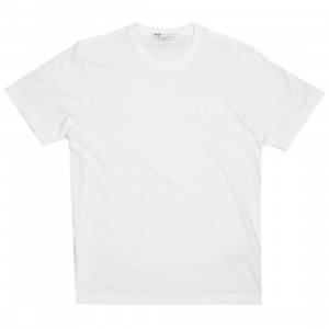 Adidas Y-3 Men Classic LF Short Sleeve Tee (white)