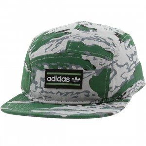 Adidas Breeze 5-Panel Adjustable Cap (green / sttegr)