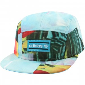 Adidas Breeze 5-Panel Adjustable Cap (teal)