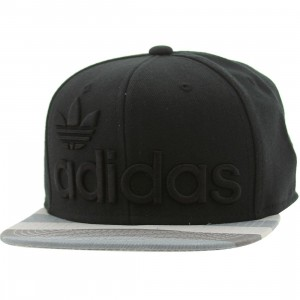 Adidas National Strapback Adjustable Cap (black / grey)
