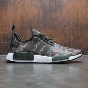 Adidas Men NMD R1 (green / sesame / trace cargo / base green)