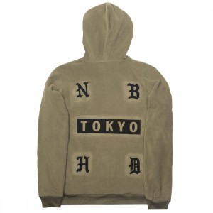 Adidas x Neighborhood Men NH Hoodie (olive / trace olive)