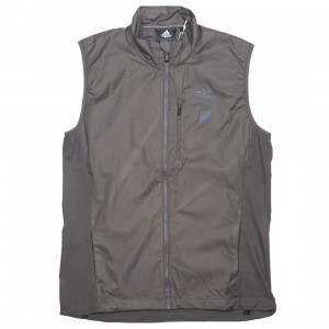 Adidas x Undefeated Men Running Vest (gray / cinder)