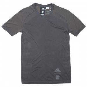 Adidas x Undefeated Men Primeknit LTD Tee (black / utility black / cinder)