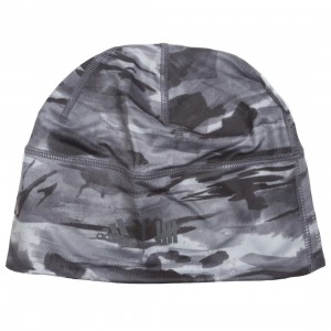 Adidas x Undefeated Running Beanie (black / reflective utility black / shift grey)