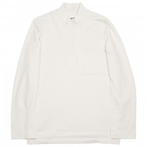 Adidas Y-3 Men Sashiko Half-Zip Sweater (beige / champagne / black)
