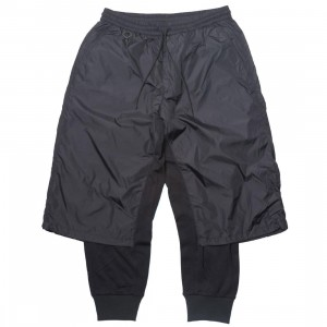 Adidas Y-3 Men Nylon Mix Track Pants (black)