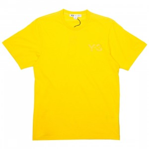 Adidas Y-3 Men Classic LF Short Sleeve Tee (yellow)