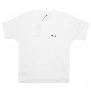 Adidas Y-3 Men Y-3 Signature Short Sleeve Tee (white)