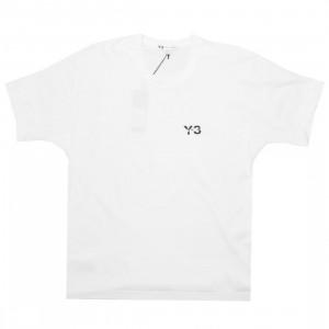 Adidas Y-3 Men Y-3 Signature Short Sleeve Tee (white)