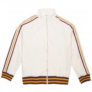 Adidas x Eric Emanuel Men Warm Up Track Top Jacket (beige / cream white / craft gold / maroon)