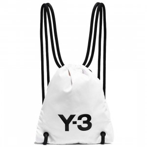 Adidas Y-3 Mini Gym Bag (white)