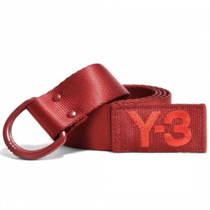 Adidas Y-3 Logo Belt (red / rust red)