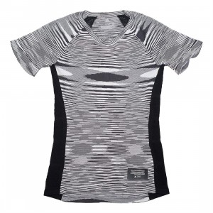 Adidas x Missoni Women City Runners Unite Tee (black / dark grey / white)