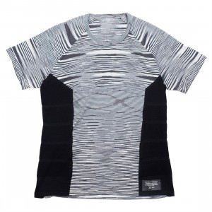 Adidas x Missoni Men City Runners Unite Tee (black / dark grey / white)