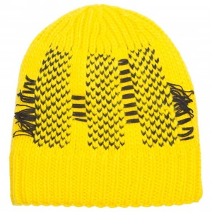Adidas Y-3 Y3 Knit Beanie (yellow)