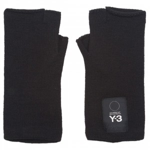 Adidas Y-3 Y3 Logo Gloves (black)