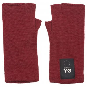 Adidas Y-3 Y3 Logo Gloves (red)