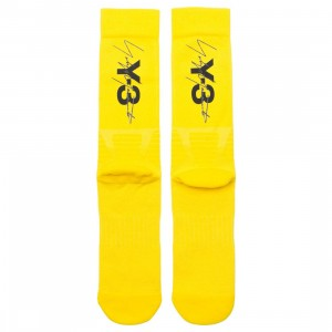 Adidas Y-3 Men Tube Socks (yellow / black)
