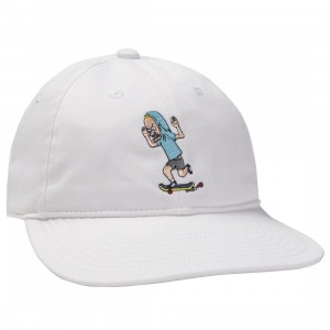 Adidas Beavis And Butthead Hat (white)
