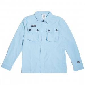 Adidas Men Gilbraith Overshirt (blue / clear blue)