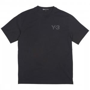 Adidas Y-3 Men Logo Short Sleeve Tee (black)