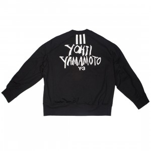 Adidas Y-3 Men Signature Graphic Crew Sweater (black)