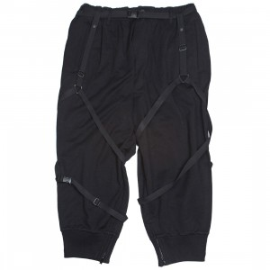 Adidas Y-3 Men Parachute Cropped Pants (black)