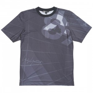 Adidas Y-3 Men AOP Football Shirt (black / parachute black aop)