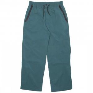 Adidas Y-3 Men Nylon Twill Slim Pants (green / petrol green)