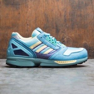 Adidas Men ZX 8000 (blue / light aqua / tactile steel / sand)