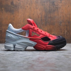 69a3a2c09d22be Adidas Raf Simons Men Replicant Ozweego (red   halo blue   core black)