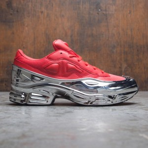 Adidas Raf Simons Men Ozweego (red / silver metallic)