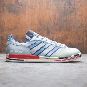 Adidas Raf Simons Men Micro Stan (silver / silver metallic / red)