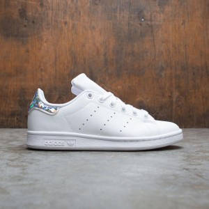 Adidas Big Kids Stan Smith J (white / footwear white / core black)