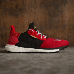 Adidas x Pharrell Williams Men CNY Solar HU (red / scarlet / footwear white / black / metallic gold)