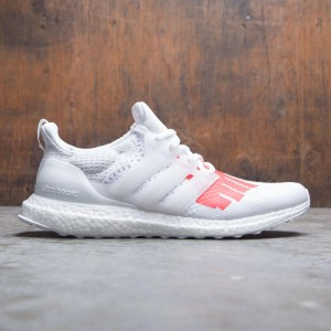 Adidas Consortium x Undefeated Men UltraBOOST (white / red / collegiate royal)