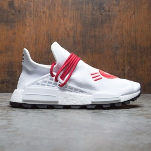 Adidas x Pharrell Williams Men HU NMD Human Made (white / scarlet / core black)
