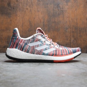 Adidas Consortium x Missoni Men PulseBOOST HD (white / raw white / active orange)