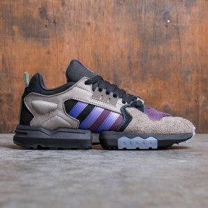 Adidas Consortium x Packer Shoes Men ZX Torsion (brown / energy ink / core black)