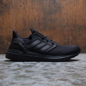 Adidas Men UltraBOOST 20 (black / core black / solar red)